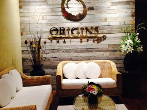 origins thai spa elite waiting