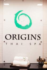 origins thai spa sterling entrance